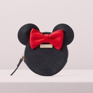 Kate spade NWT Minnie mouse coin purse